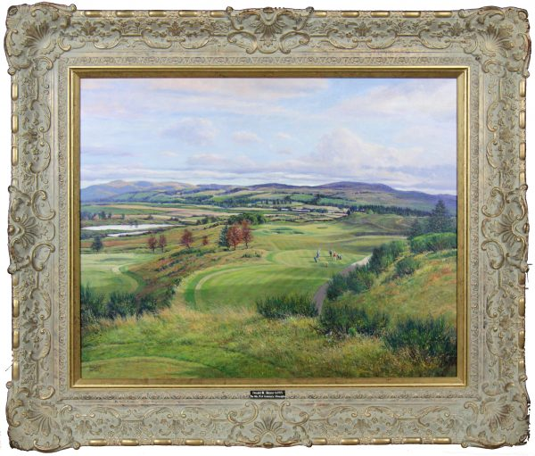 Donald Shearer_The 8th PGA Centenary, Gleneagles_Oils_24x30