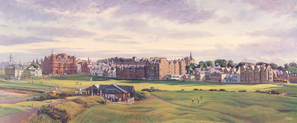 SH27_SHEARER_THE OLD COURSE ST ANDREWS (Panorama)