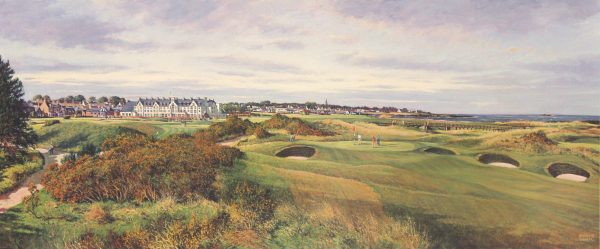 SH28_SHEARER_THE CHAMPIONSHIP COURSE, CARNOUSTIE (PANORAMA)