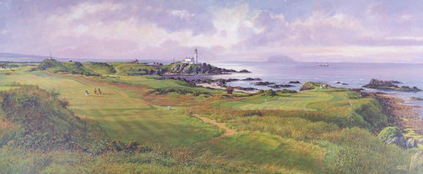 SH32_SHEARER_THE AILSA COURSE, TURNBERRY (PANORAMA)