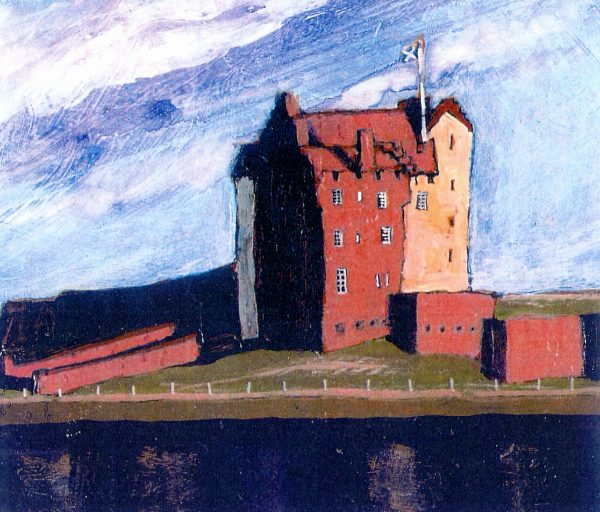 Stephen French_Broughty Ferry Castle_5.25x4.5_13.50