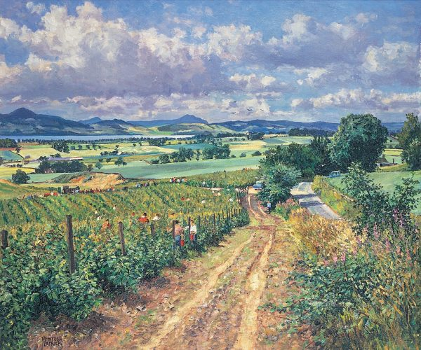 James McIntosh Patrick_Berry Picking, Mains of Gray_13x15.75