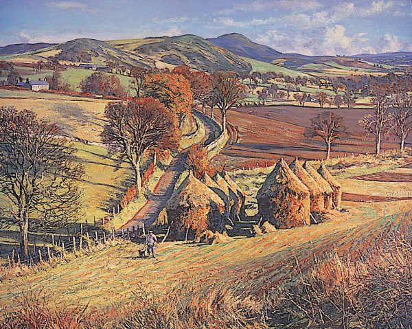 James McIntosh Patrick_Cornstacks_16x19.5