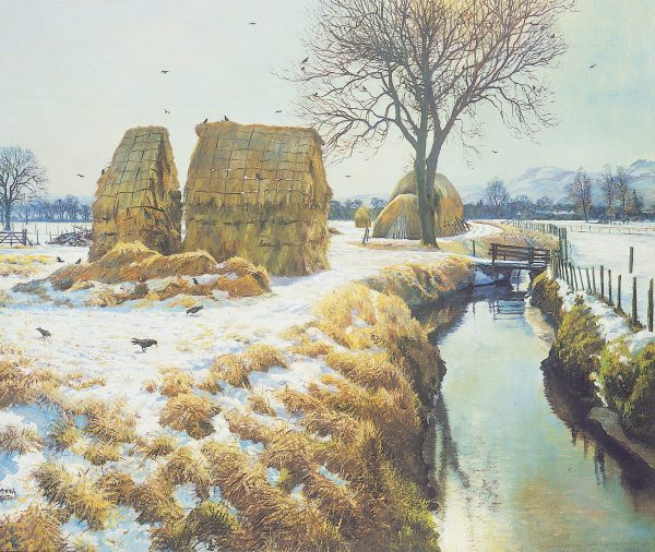 James McIntosh Patrick_December Sunshine, Millhill_17x20.25