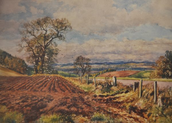 James McIntosh Patrick_Furrows at Tullybaccart_15x20.75