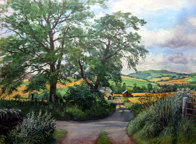James McIntosh Patrick_Midsummer Shadows_14.75x20.5