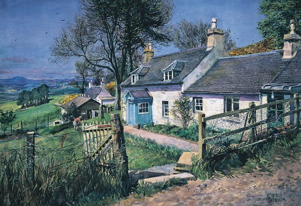 James McIntosh Patrick_Tullybaccart Farm_12x17.5