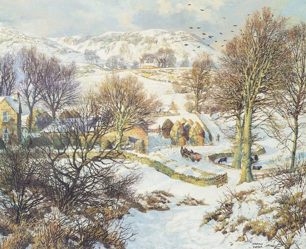 James McIntosh Patrick_Winter at Lundie_16.5x20.5