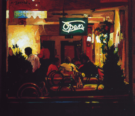 Joe McIntyre_The Red Cafe_12x13