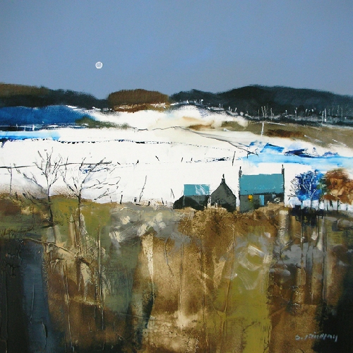 Dugald Findlay_Cool Moon_12x12