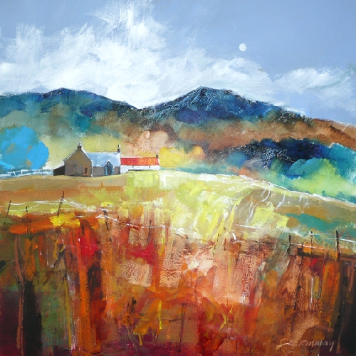 Dugald Findlay_Hill Farm, Perthshire_12x12