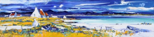 Jean Feeney_Summer on the Isle of Lewis_5.25x22