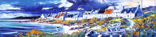 Jean feeney_Portnahaven, Isle of Islay_5.25x22