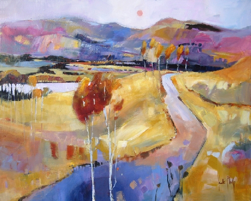 Kate Philp_Highland Road_15.75x19.75