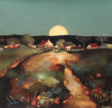 Lesley McLaren_Harvest Moon_8.5x9