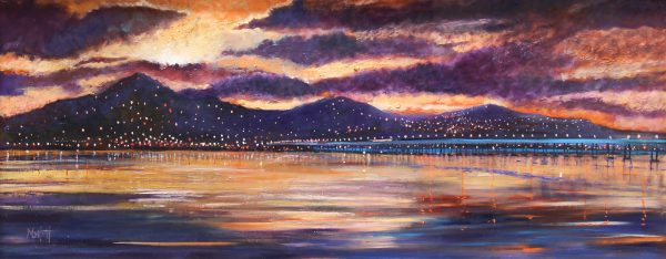 Timmy Mallett_sunset on dundee_2950 unframed