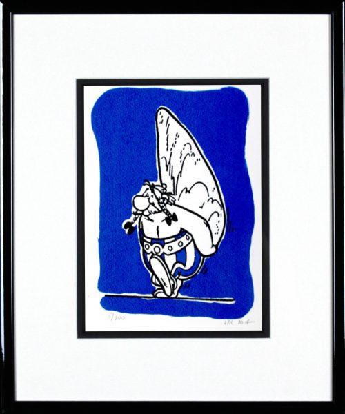 John Patrick Reynolds_Obelix Carrying a Menhir_15x13_Framed