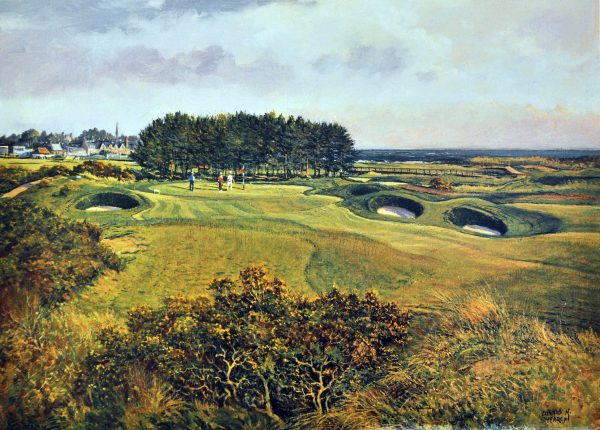 Donald Shearer_SH22.CARNOUSTIE.15TH.CHAMPIONSHIP.COURSE.253x355mm
