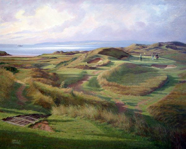 Donald Shearer_SH25.Royal.Troon.The.Postage.Stamp.253x355mm