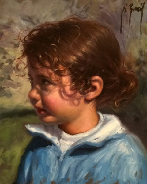Jose Borrell_Innocence III_Oils_10x8.25