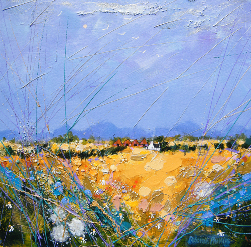 Deborah Phillips_Rusty Strathmore Barns_Hand Embellished Signed Limited Edition_5x5