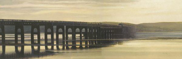 John Bell_Golden Light The Tay Bridge_