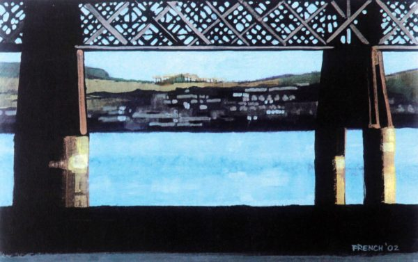 Stephen French_Wormit through Tay Brdige_Signed Limited Edition_5x8