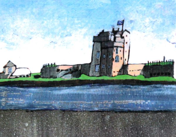 Stephen French_Broughty Ferry Castle_4.5x6