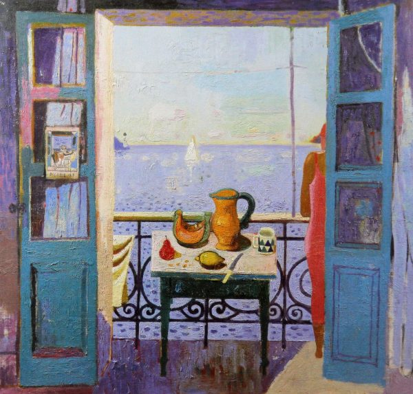Leon Morrocco_Looking out to Sea_330x340
