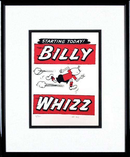 John Patrick Reynolds_Billy Whizz_15x13_Framed