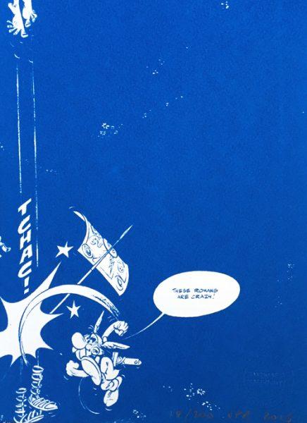 John Patrick Reynolds_Comic Art_Asterix Hits A Roman