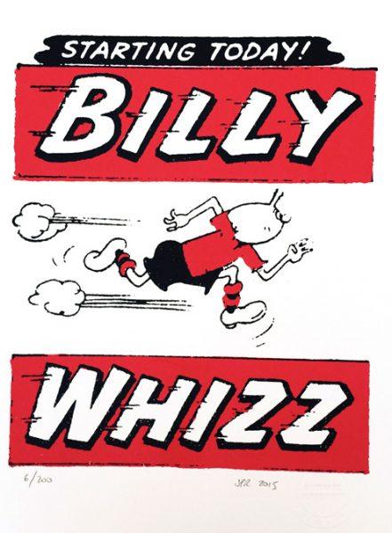 John Patrick Reynolds_Comic Art_Billy Whizz