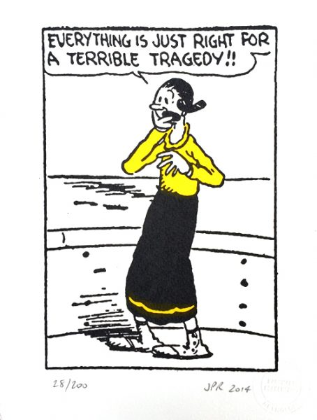 John Patrick Reynolds_Comic Art_Olive Oyl & the Terrible Tragedy
