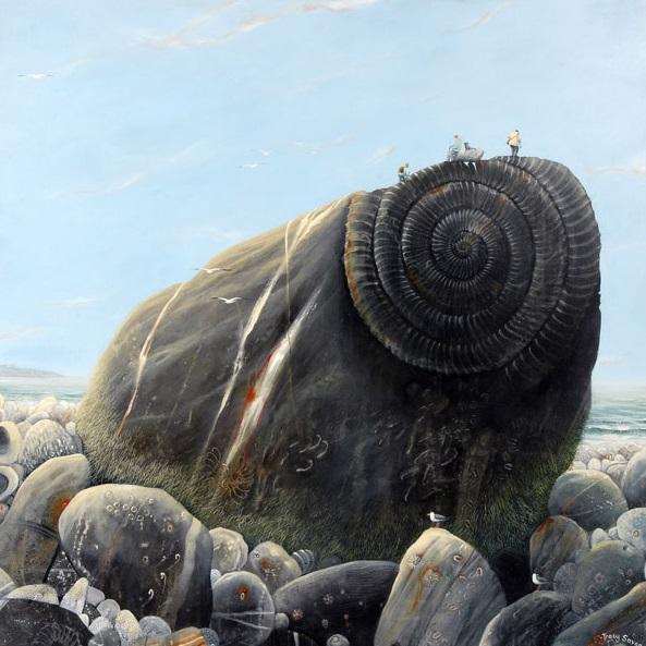 Tracy Savage_Fossil Hunters_16.5x16.5