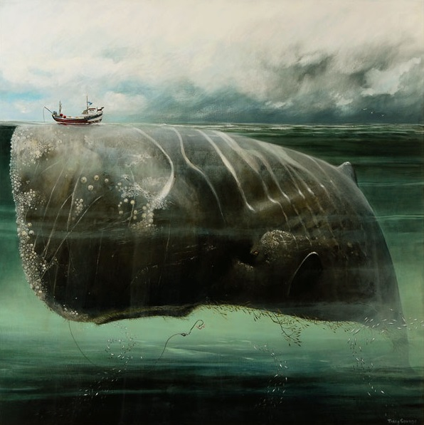 Tracy Savage_The Whale_16.5x16.5