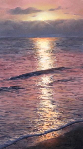 Alfredo Novarro_Sunrise_Oils_ Image 9x12.5