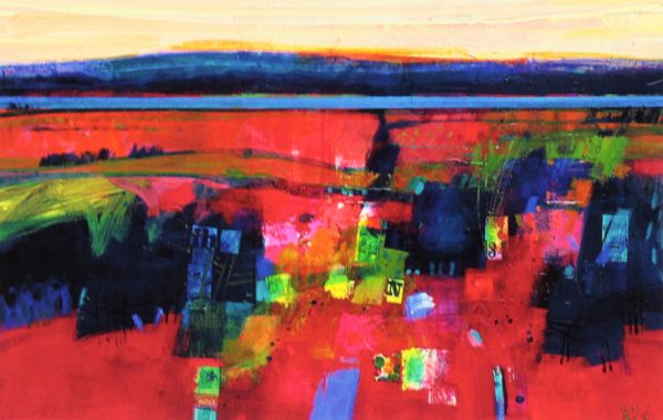 Francis Boag_Black Isle of Nairn_Signed Limited Edition Print Giclee_Image 15.5x23.5