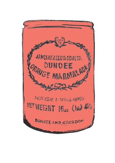 Laura Nicoll_Peach Echo Marmalade Jar_Signed Digital Print_11.5x8