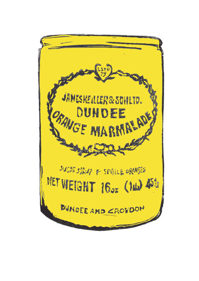 Laura Nicoll_Yellow Marmalade Jar_Signed Digital Print_11.5x8