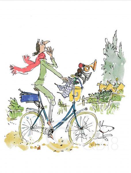 'What This Bike Needs' Said Mrs. Armitage