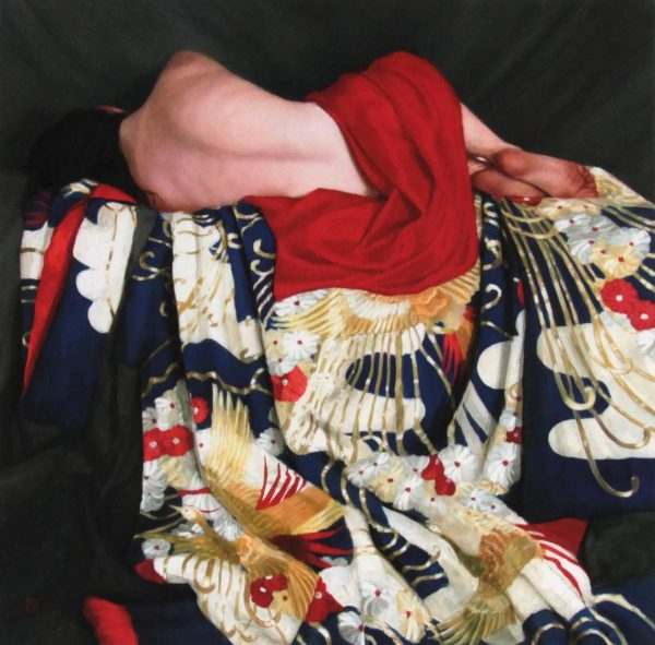 Stephanie Rew- Signed Limited Edition Print_Recline on Blue Uchikake_Image 19