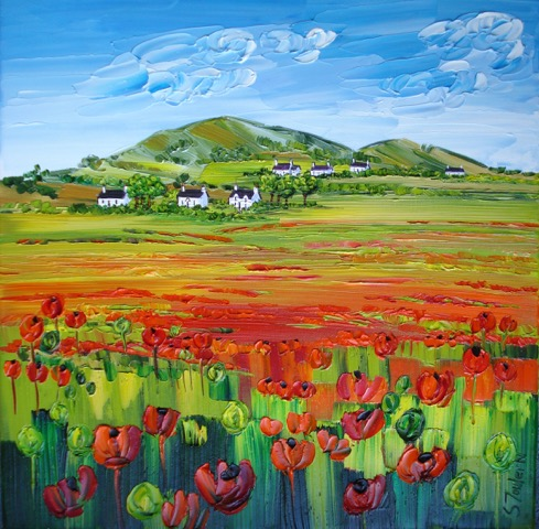 poppies at lower largo