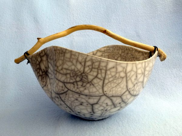4. curved crackle bowl