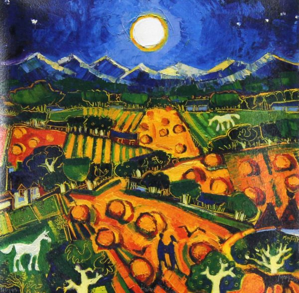 Charles Monteith Walker_Signed Limited Edition Print__Harvest Moon_40 of 195_15x15_x28 (6)