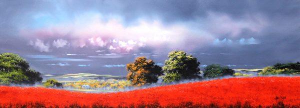 Allan Morgan_Harvest 1_Oils_Image Size 15x40