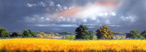 Allan Morgan_Harvest 5_Oils_Image Size 15x40