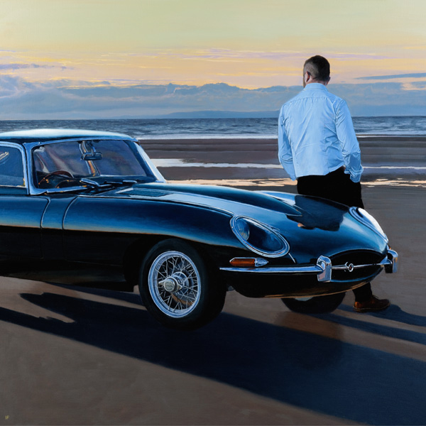 Iain Faulkner_A Break in the Journey_17x17_31x31