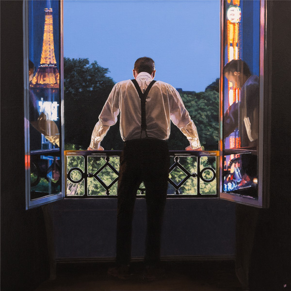 Iain Faulkner_Signed Limited Edition_Paris 7.48pm_20x20_33x33
