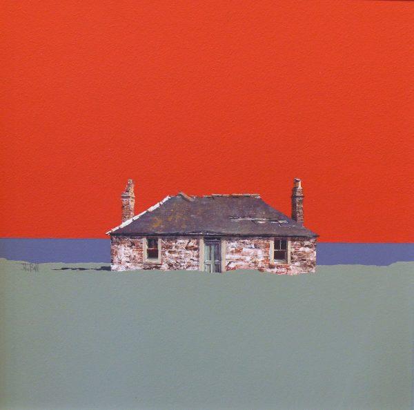John Bell_Original_Acrylics_Ruin Ferry Den
