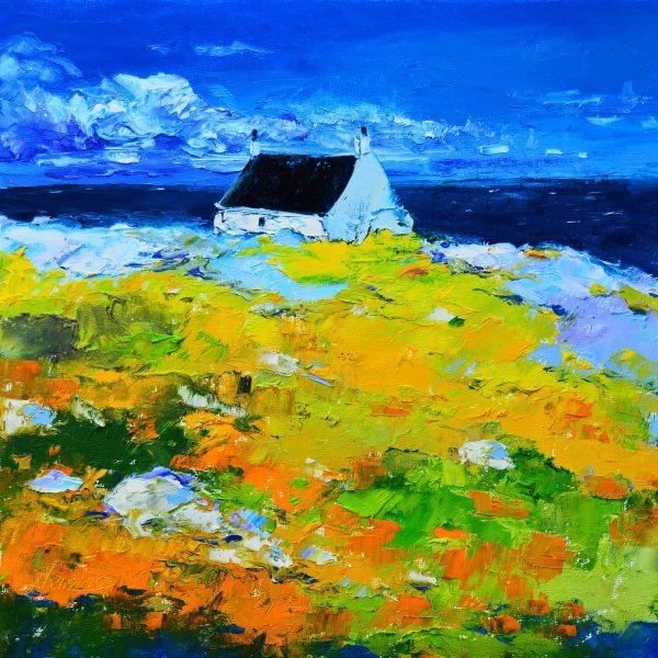 1.Spring, Cottage by the Sea, Cleat, Barra